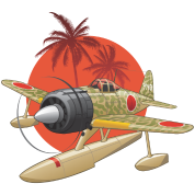 Japanese WWII Airplane