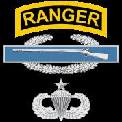 Ranger CIB Airborne Senior
