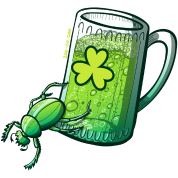 Saint Patrick's Day Beetle