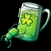 Saint Patrick's Day Beetle