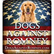 Design ~ golden_retrieverdogsagainstromneyflag