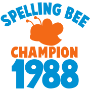 spelling bee champion 1988 super cute college shirt