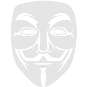 Anonymous/Guy Fawkes mask 1 clr