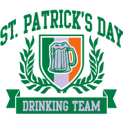 st. patrick's day drinking team