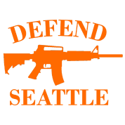 Defend Seattle (Orange)