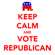 Keep Calm and Vote Republican 2012 Election