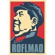 Design ~ Mao: Obama Poster Parody