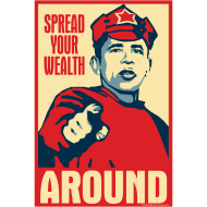 Design ~ Obama - Red Army Soldier