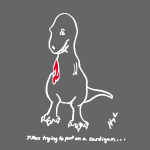 white_t_rex_trying_cardiganshirt2_orig