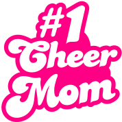 #1 cheer mom number one