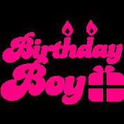 Birthday boy new with present