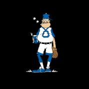 Funny Baseball Grandpa