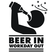 Beer in - Workday out Icon
