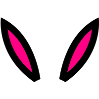 Rabbit Ears Silhouette Rabbit Ears Silhouette