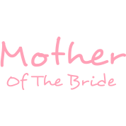 """Mother of The Bride Vector - Change the color of this """"Mother of the Bride"""" graphic design for custom tshirts, hoodies and more clothing and accessories!"""
