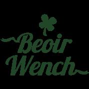 IRISH BEOIR (Irish for beer) wench
