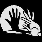 hand shadow rabbit