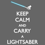 Carry Lightsaber Blue