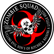 Zombie Squad 2 Ring Patch Revised