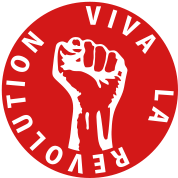 1 color - Viva la Revolution Working Class Against