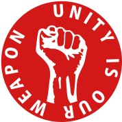 1 color - unity is our weapon Working Class Agains