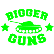 bigger guns