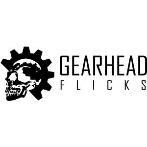Gearhead Flicks logo black