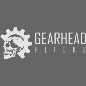 Gearhead Flicks logo white