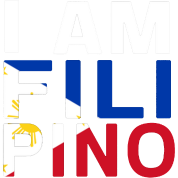 I AM FILIPINO (White)
