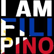 I AM FILIPINO (White)