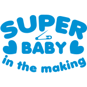 SUPER baby in the making!