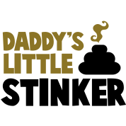 daddy's little stinker with steamy poo