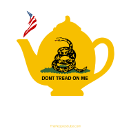 Design ~ Tea Pot - Born & Brewed on dark