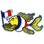 French Flag Fish Fabspark  v2
