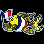 French Flag Fish Fabspark  v2