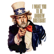 Design ~ Andrew Breitbart as Uncle Sam