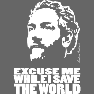 Design ~ Andrew Breitbart: Excuse me while i save the world