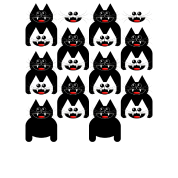A CROWD OF CATS