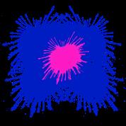 Flower Paint Splatter - Colorful Graphic Design