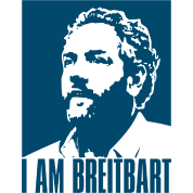 I am Breitbart - blue