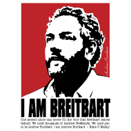 Design ~ I am Breitbart - WRB - quote