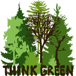 EARTHDAYCONTEST Earth Day Think Green forest trees wilderness mother nature