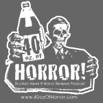 40oz of Horror Logo