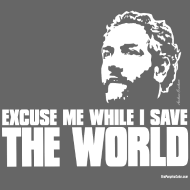 Design ~ Breitbart - Save the World - WT