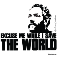 Design ~ Breitbart - Save the World - BT