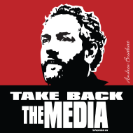 Design ~ Breitbart - Take Back the Media - RWB - square