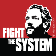 Design ~ Breitbart - Fight the System - RWB - square