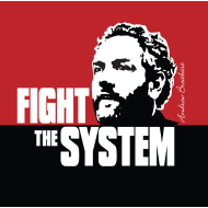 Design ~ Breitbart - Fight the System - RWB - Button