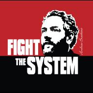 Design ~ Breitbart - Fight the System - RWB - Button