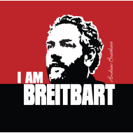 Design ~ Breitbart - I am - RWB - Button